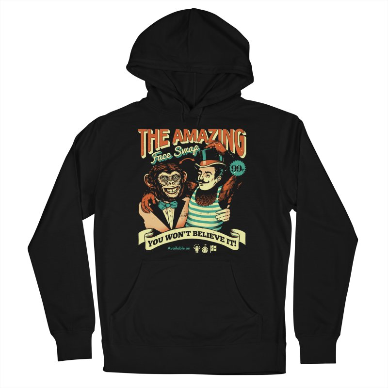 The Amazing Face Swap Men's Pullover Hoody by Santiago Sarquis's Artist Shop