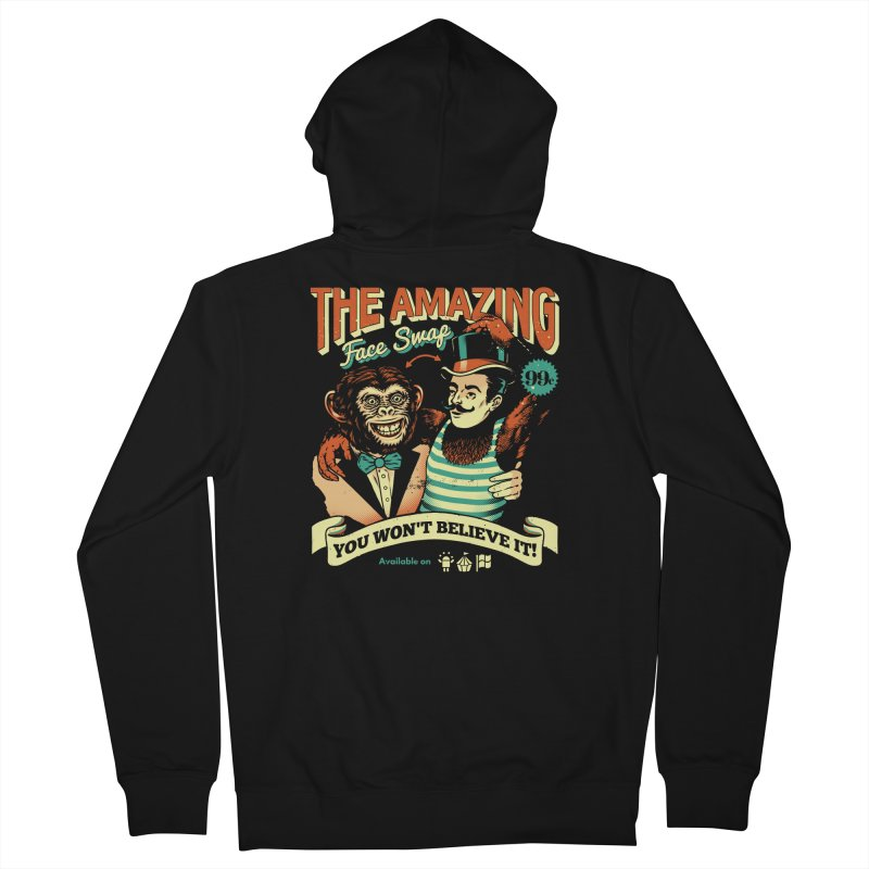 The Amazing Face Swap Women's Zip-Up Hoody by metalsan's Artist Shop