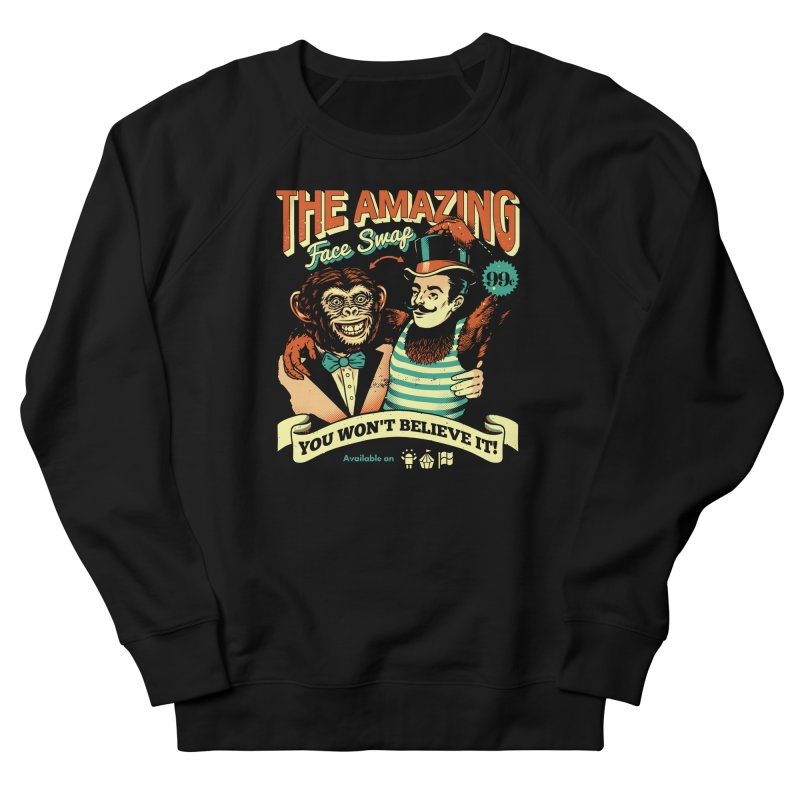 The Amazing Face Swap Women's Sweatshirt by Santiago Sarquis's Artist Shop
