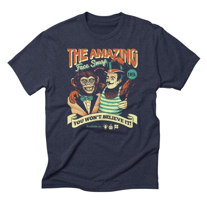 The Amazing Face Swap Men's Triblend T-shirt by metalsan's Artist Shop