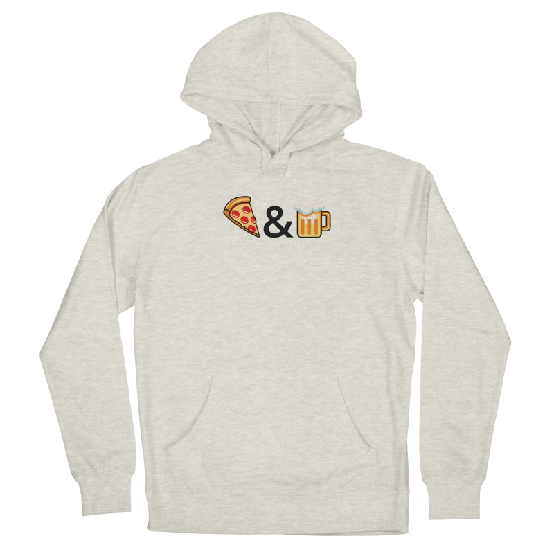 Pizza and Beer Women's Pullover Hoody by Santiago Sarquis's Artist Shop