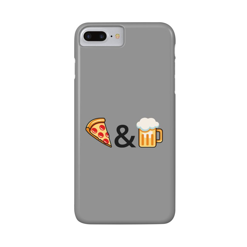Pizza and Beer Accessories Phone Case by metalsan's Artist Shop