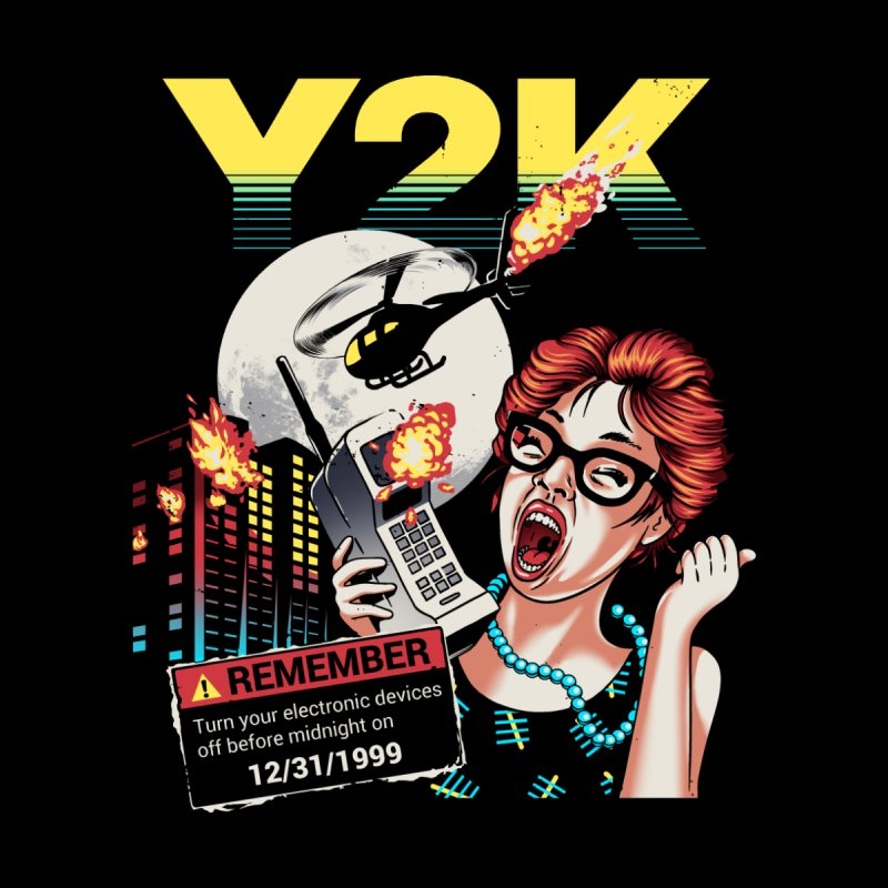 Y2K Women's Heavyweight Unisex T-Shirt by Santiago Sarquis's Artist Shop