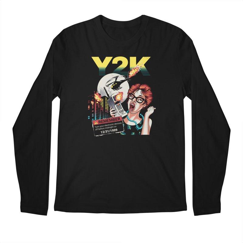 Y2K Men's Longsleeve T-Shirt by Santiago Sarquis's Artist Shop