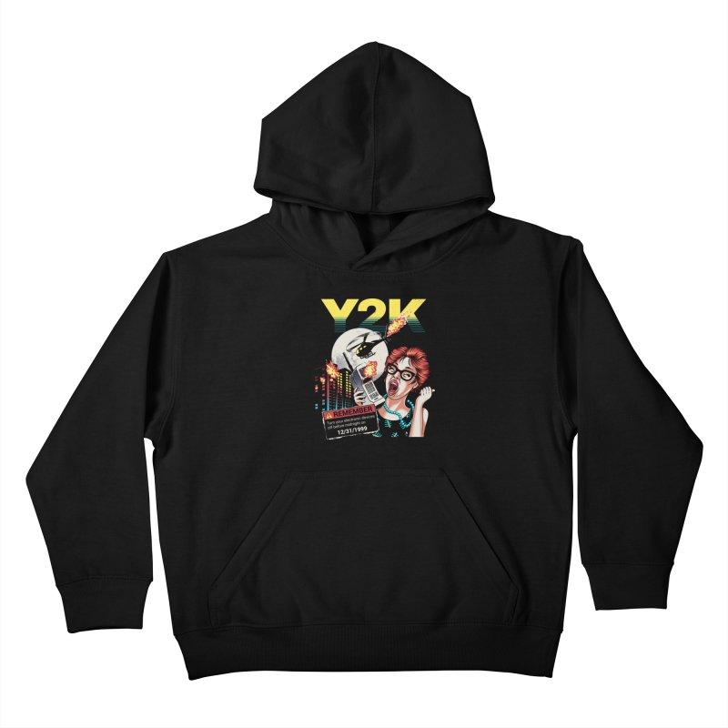 Y2K Kids Pullover Hoody by metalsan's Artist Shop