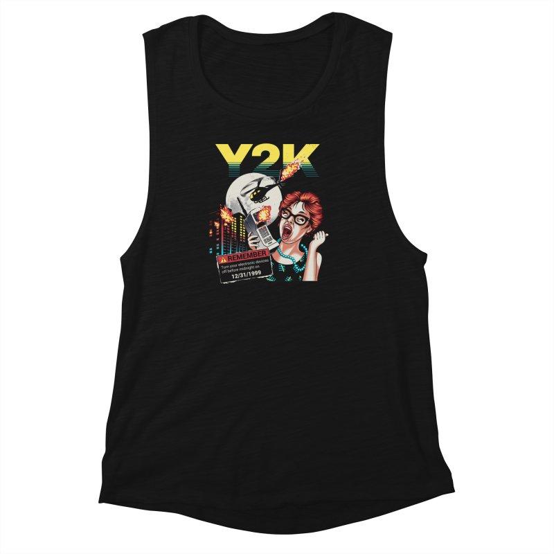 Y2K Women's Muscle Tank by Santiago Sarquis's Artist Shop