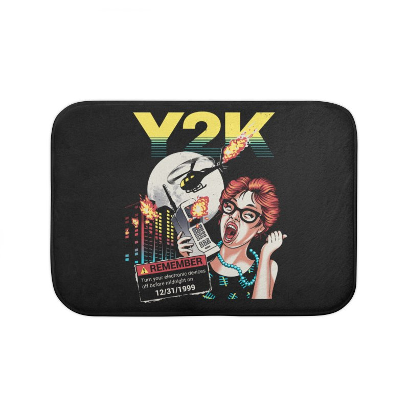Y2K Home Bath Mat by Santiago Sarquis's Artist Shop