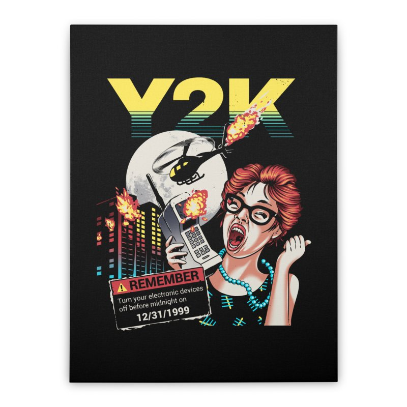 Y2K Home Stretched Canvas by Santiago Sarquis's Artist Shop