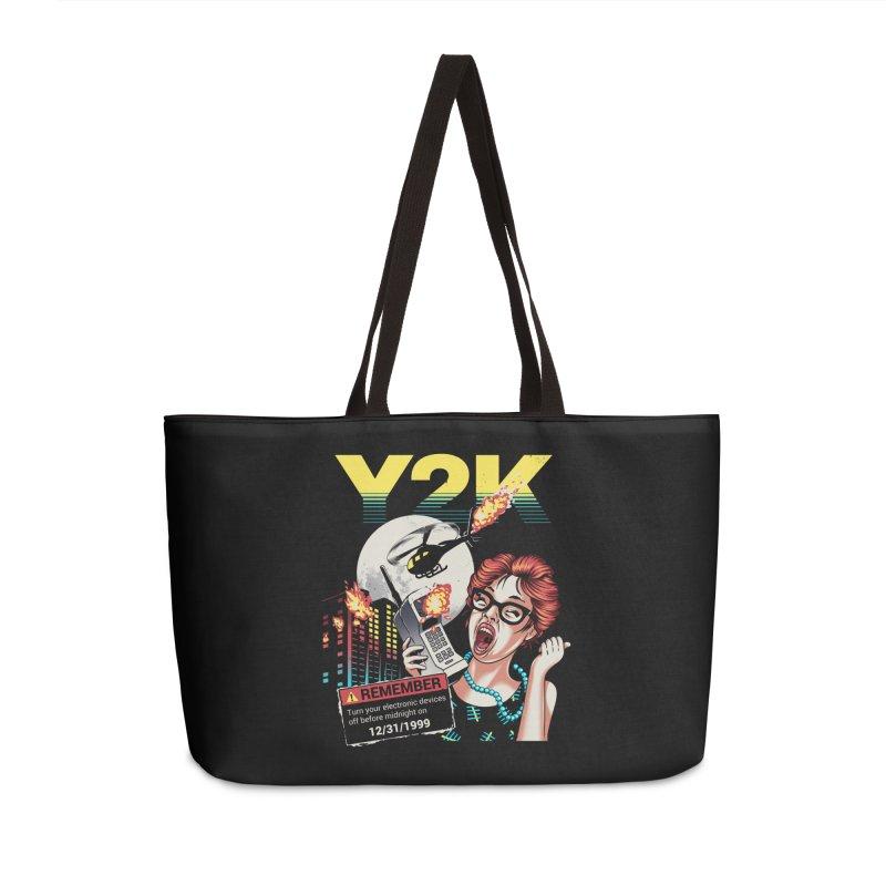 Y2K Accessories Weekender Bag Bag by Santiago Sarquis's Artist Shop