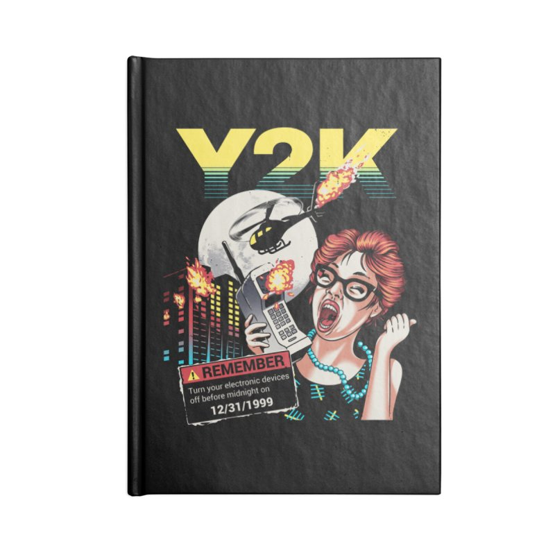 Y2K Accessories Lined Journal Notebook by Santiago Sarquis's Artist Shop