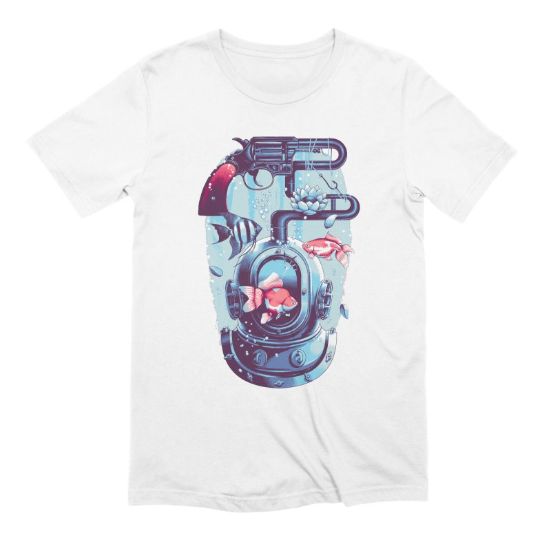 Shoot me Again Men's T-Shirt by Santiago Sarquis's Artist Shop
