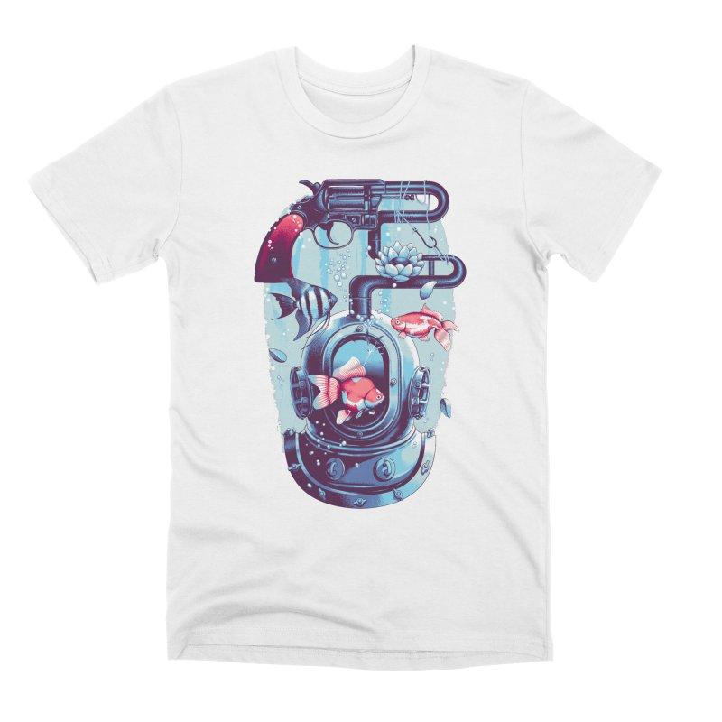 Shoot me Again Men's T-Shirt by Santiago Sarquis's Artist Shop
