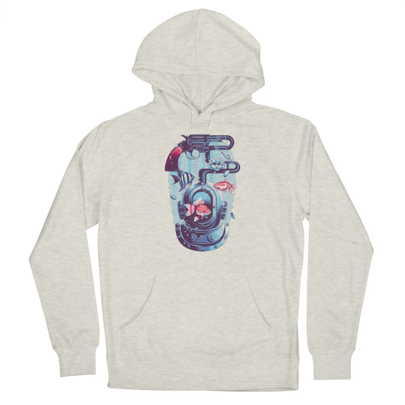 Shoot me Again Men's Pullover Hoody by Santiago Sarquis's Artist Shop