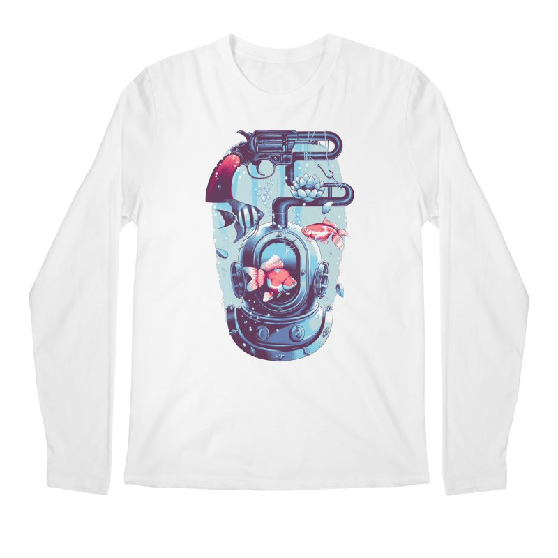Shoot me Again Men's Longsleeve T-Shirt by Santiago Sarquis's Artist Shop