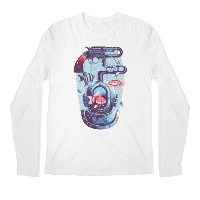 Shoot me Again Men's Longsleeve T-Shirt by metalsan's Artist Shop