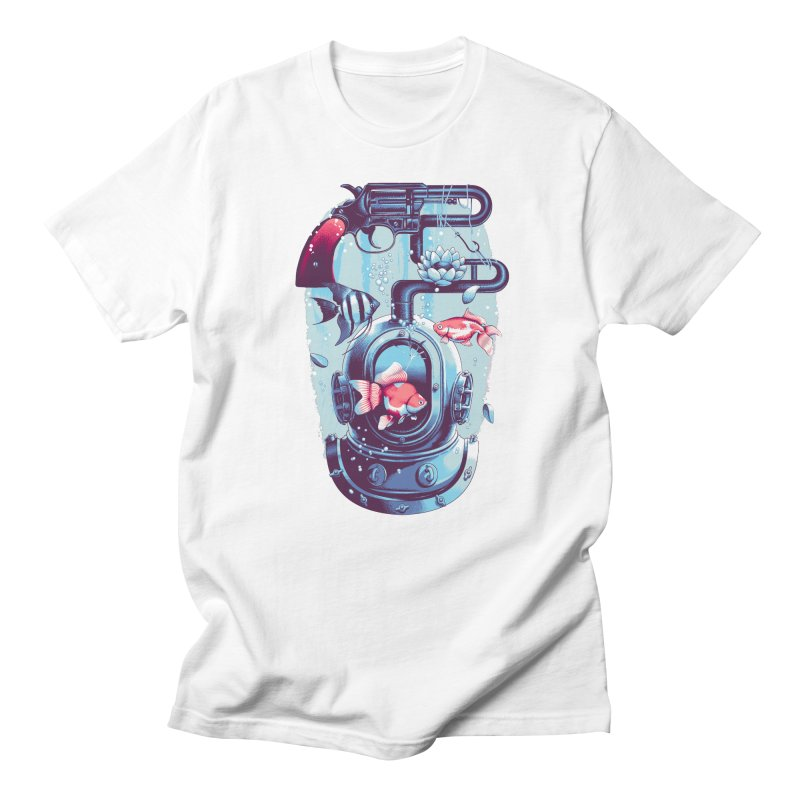Shoot me Again Women's Regular Unisex T-Shirt by Santiago Sarquis's Artist Shop
