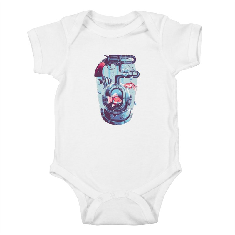 Shoot me Again Kids Baby Bodysuit by Santiago Sarquis's Artist Shop