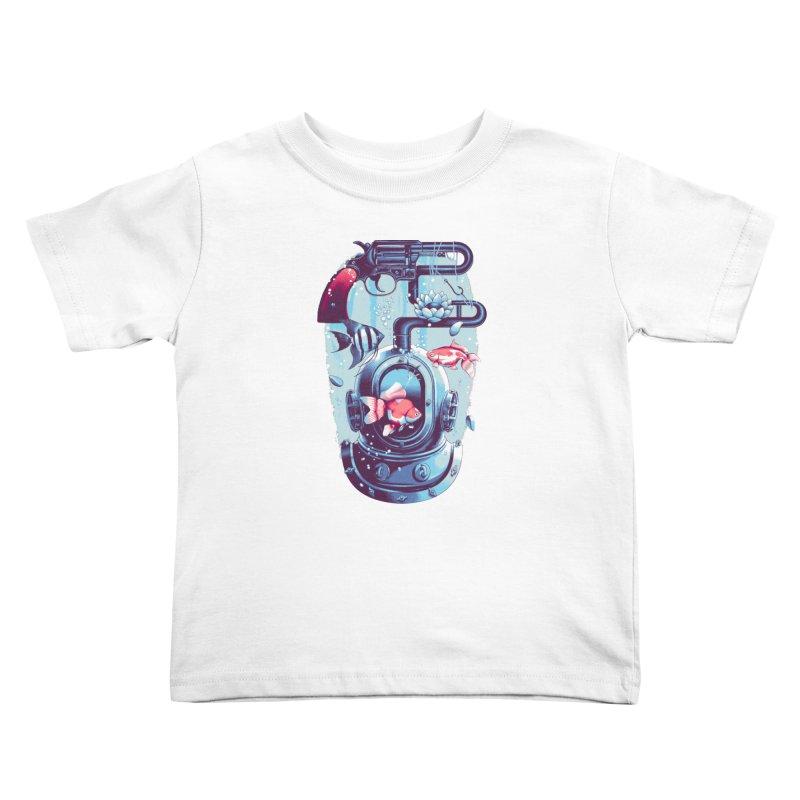 Shoot me Again Kids Toddler T-Shirt by Santiago Sarquis's Artist Shop