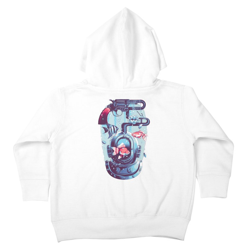 Shoot me Again Kids Toddler Zip-Up Hoody by Santiago Sarquis's Artist Shop
