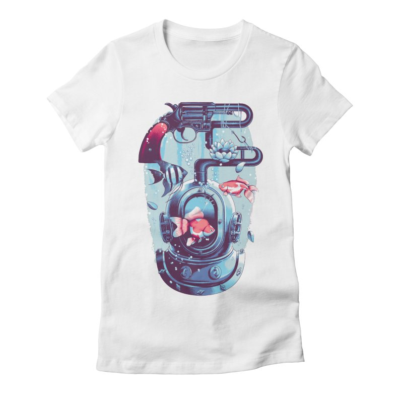 Shoot me Again Women's T-Shirt by Santiago Sarquis's Artist Shop