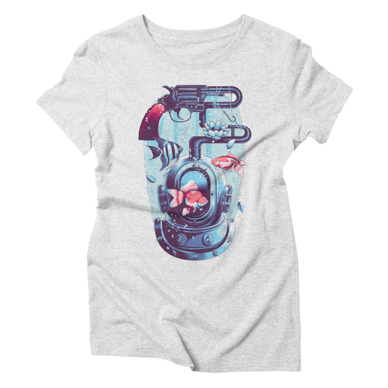 Shoot me Again Women's Triblend T-Shirt by Santiago Sarquis's Artist Shop