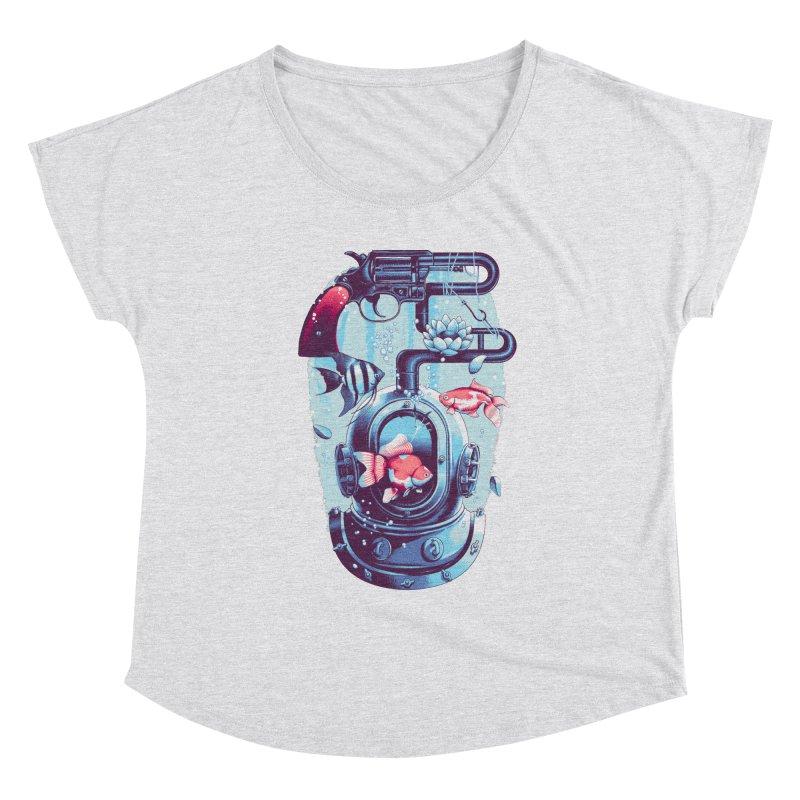 Shoot me Again Women's Scoop Neck by Santiago Sarquis's Artist Shop