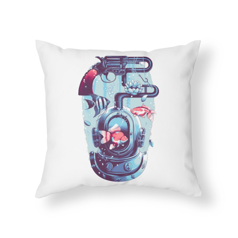 Shoot me Again Home Throw Pillow by Santiago Sarquis's Artist Shop