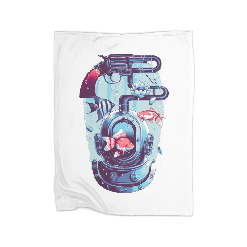 Shoot me Again Home Blanket by Santiago Sarquis's Artist Shop