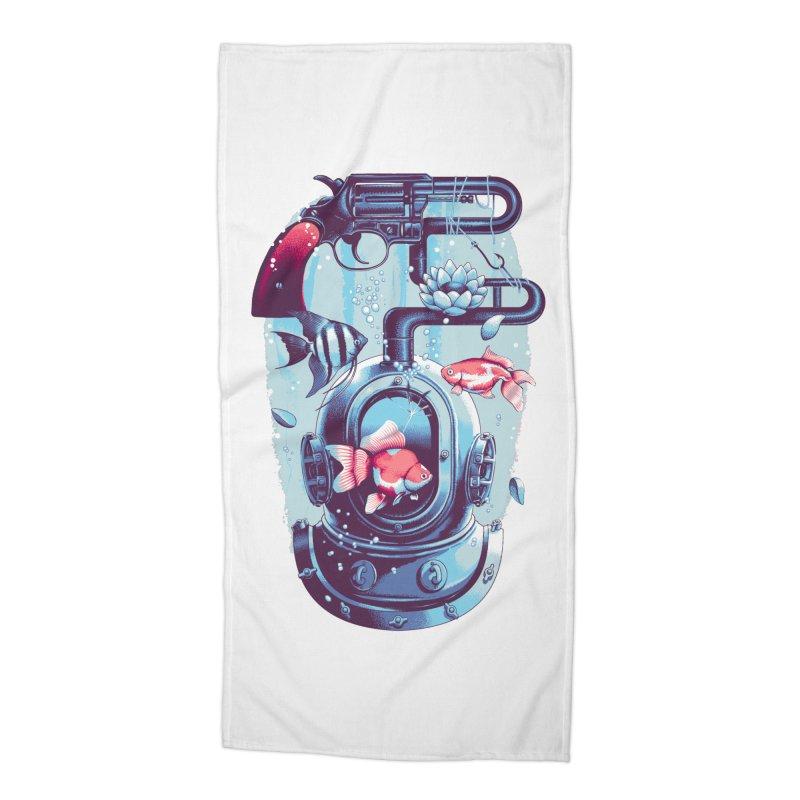 Shoot me Again Accessories Beach Towel by Santiago Sarquis's Artist Shop