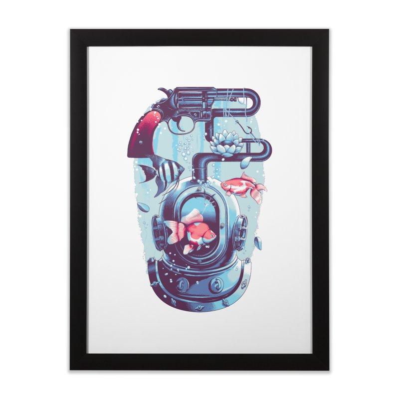 Shoot me Again Home Framed Fine Art Print by Santiago Sarquis's Artist Shop