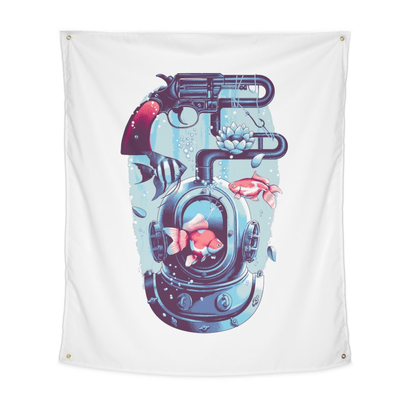 Shoot me Again Home Tapestry by Santiago Sarquis's Artist Shop