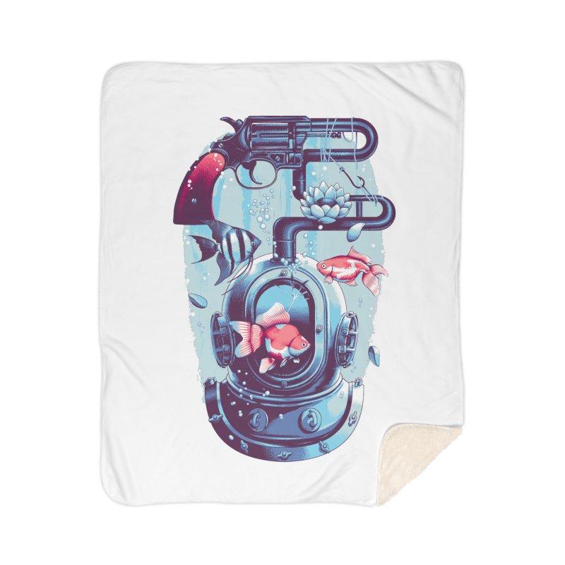 Shoot me Again Home Sherpa Blanket Blanket by Santiago Sarquis's Artist Shop