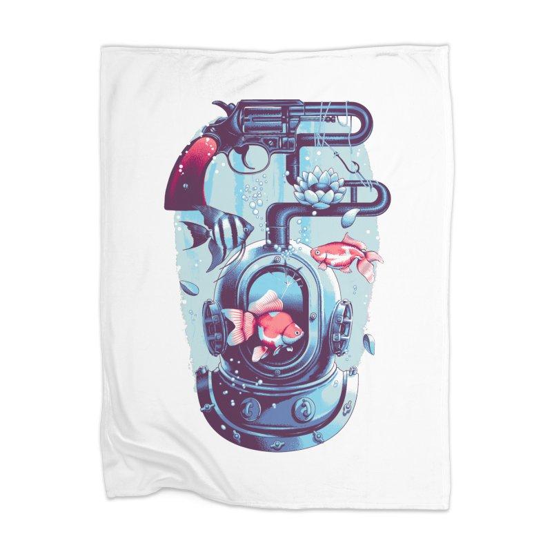 Shoot me Again Home Blanket by Santiago Sarquis's Artist Shop