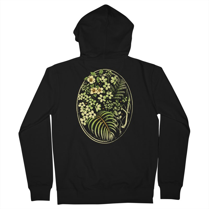 The Looking Glass Men's French Terry Zip-Up Hoody by Santiago Sarquis's Artist Shop