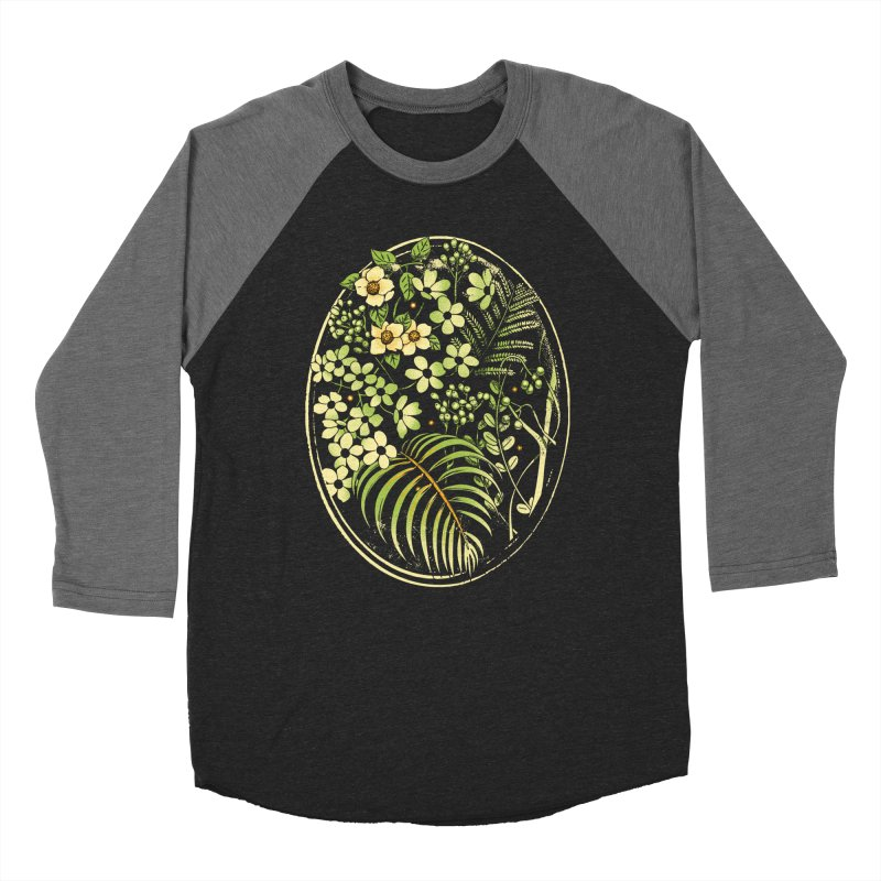 The Looking Glass Men's Baseball Triblend Longsleeve T-Shirt by Santiago Sarquis's Artist Shop