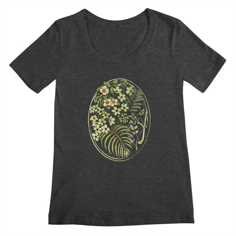 The Looking Glass Women's Scoopneck by metalsan's Artist Shop