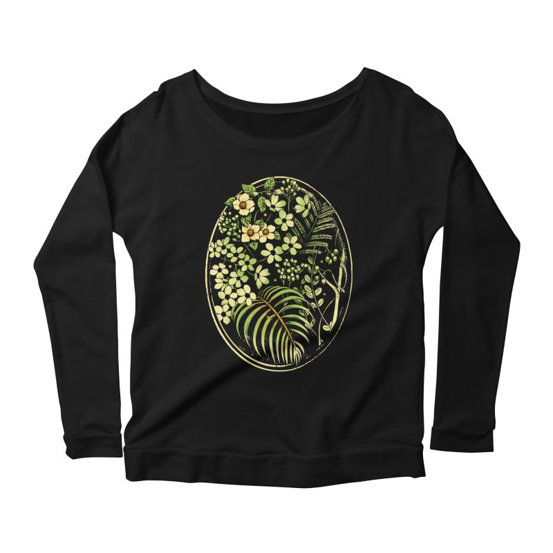 The Looking Glass Women's Longsleeve Scoopneck  by Santiago Sarquis's Artist Shop