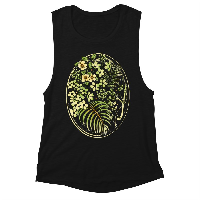 The Looking Glass Women's Muscle Tank by Santiago Sarquis's Artist Shop