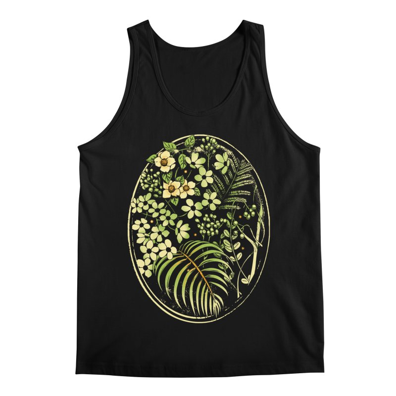 The Looking Glass Men's Regular Tank by Santiago Sarquis's Artist Shop