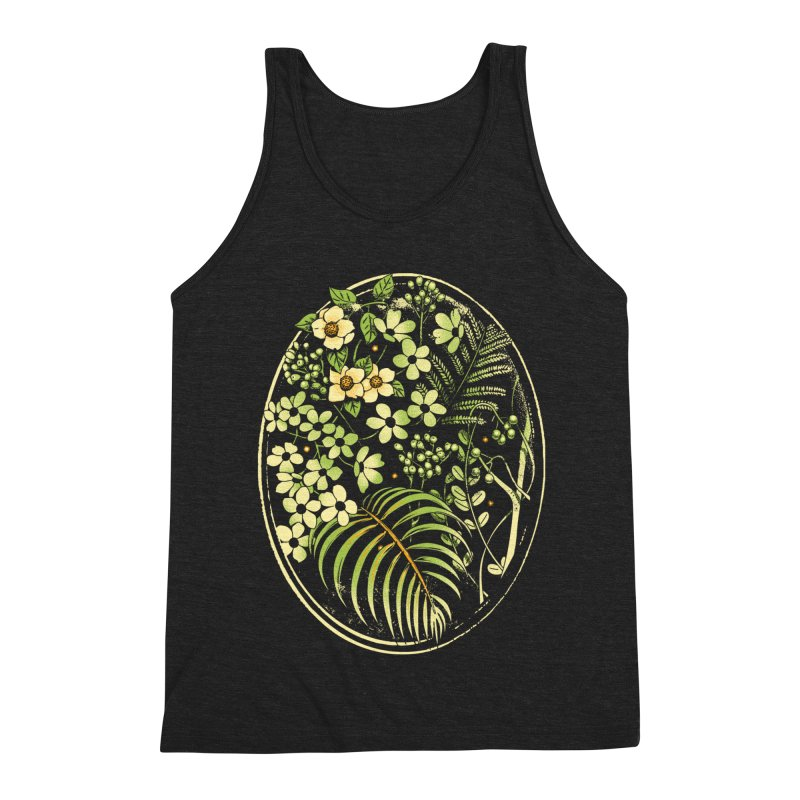 The Looking Glass Men's Triblend Tank by Santiago Sarquis's Artist Shop