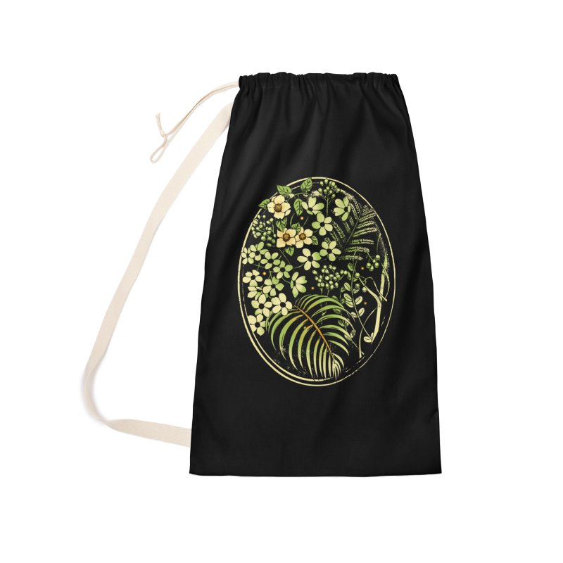 The Looking Glass Accessories Laundry Bag Bag by Santiago Sarquis's Artist Shop