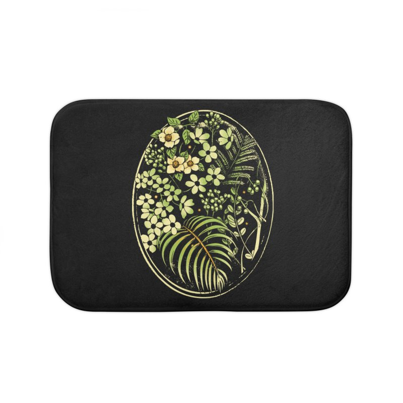 The Looking Glass Home Bath Mat by Santiago Sarquis's Artist Shop