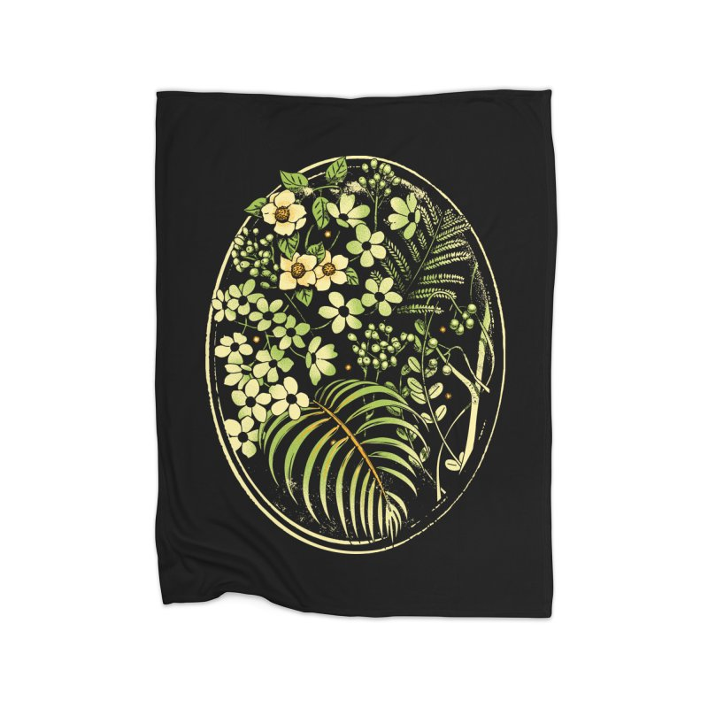 The Looking Glass Home Blanket by metalsan's Artist Shop