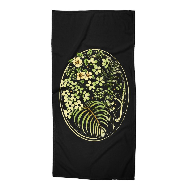 The Looking Glass Accessories Beach Towel by metalsan's Artist Shop