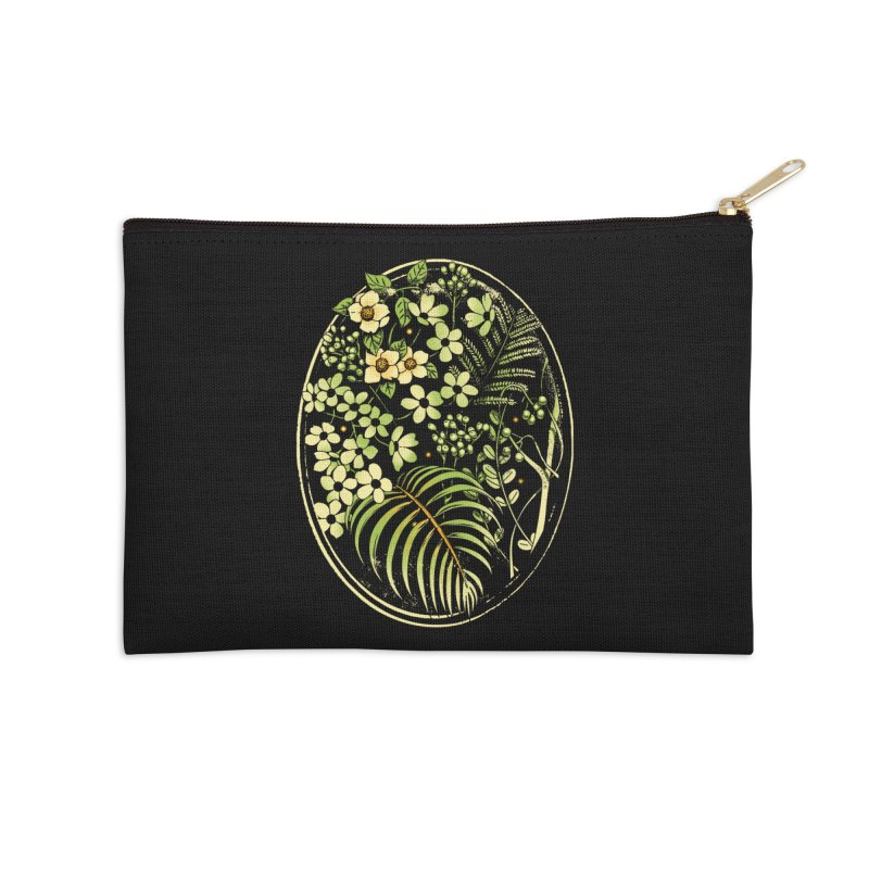 The Looking Glass Accessories Zip Pouch by Santiago Sarquis's Artist Shop