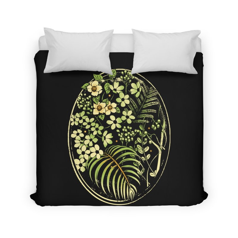 The Looking Glass Home Duvet by Santiago Sarquis's Artist Shop