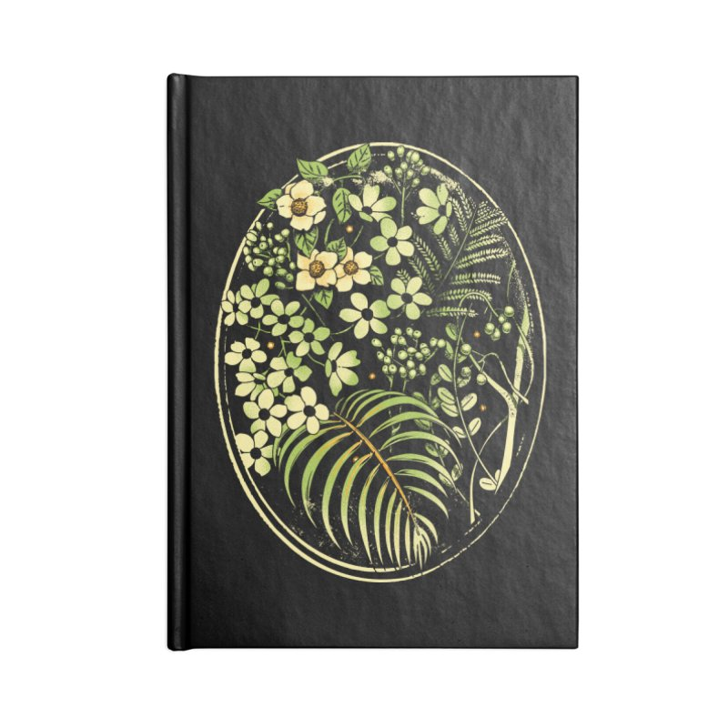 The Looking Glass Accessories Blank Journal Notebook by Santiago Sarquis's Artist Shop