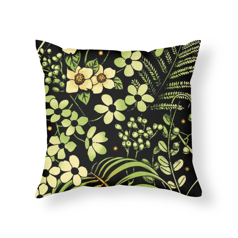 The Looking Glass Home Throw Pillow by Santiago Sarquis's Artist Shop