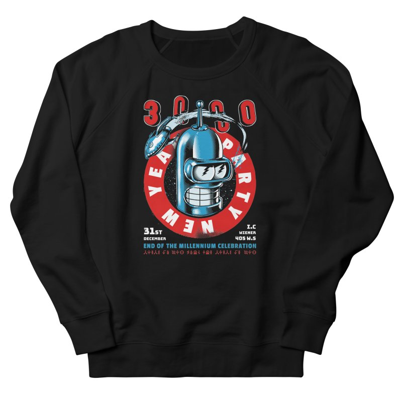 New Years Party Women's Sweatshirt by Santiago Sarquis's Artist Shop