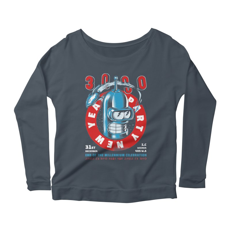 New Years Party Women's Longsleeve T-Shirt by Santiago Sarquis's Artist Shop